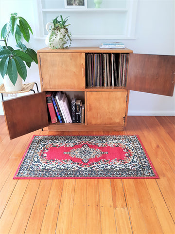 SOLD Restored Retro Record Cabinet