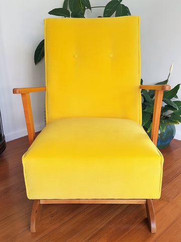 SOLD Restored Retro Rocker / Nursing Rocking Chair