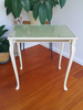 SOLD Newly Painted Vintage Occasional Table