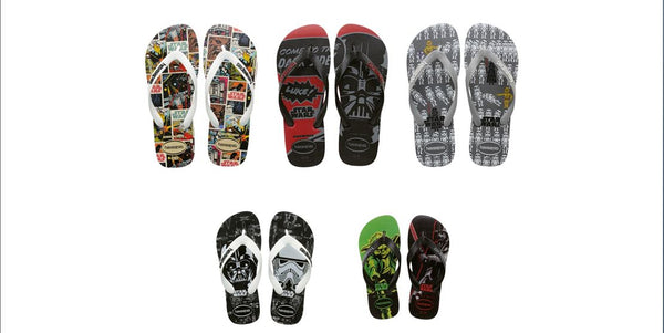 havaianas star wars collection