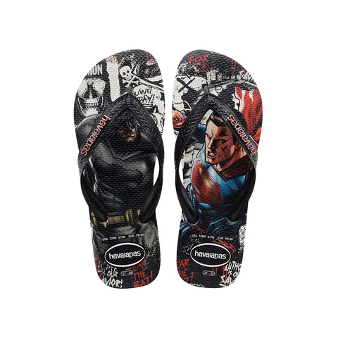 Havaianas Batman V Superman White/Black