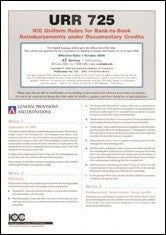 ICC Uniform Rules for Bank-to-Bank Reimbursement under Documentary Credit (Pack of 10) - ICC