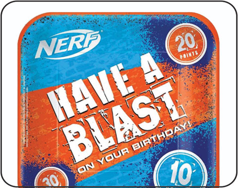 Nerf Party Supplies Decorations NZ