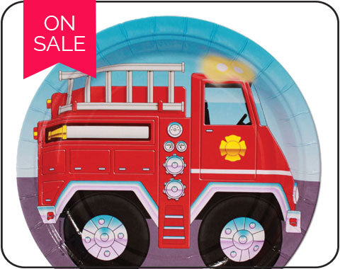 Fire Fighter party supplies