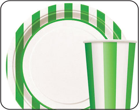 Green Striped Party