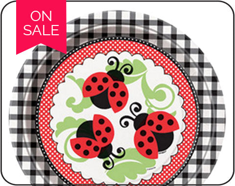 Lively ladybug Party Supplies