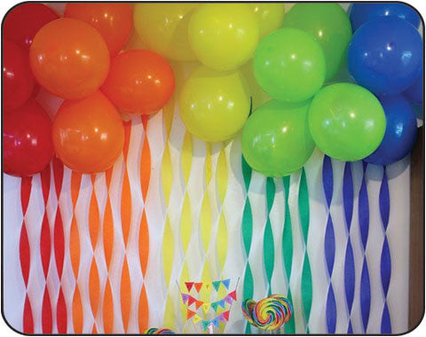 Plain Coloured Balloons