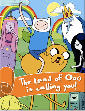 Adventure Time Party Invitations Just For Kids