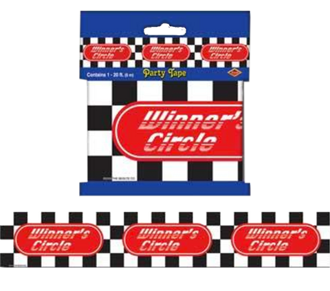 Checkered Winners Tape