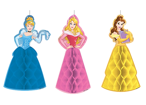 Disney Princess Honeycomb Hanging Decorations
