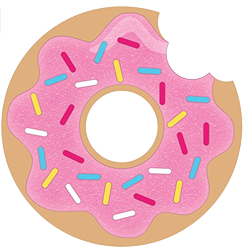 donut sprinkle party invitations donut party teenagers nz