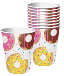 Donut Sprinkle Party Cups