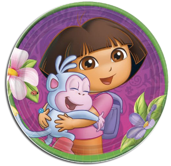 Dora The Explorer Party Plates