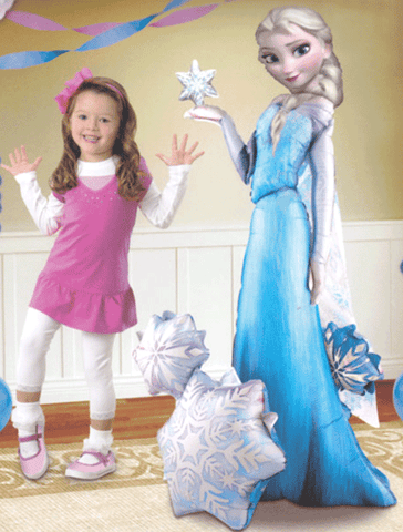 Frozen Elsa Air Walker Foil Balloon