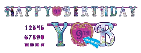Frozen Jumbo 'Add and Age' Happy Birthday Banner