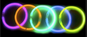Glow in the Dark Bracelets pk4