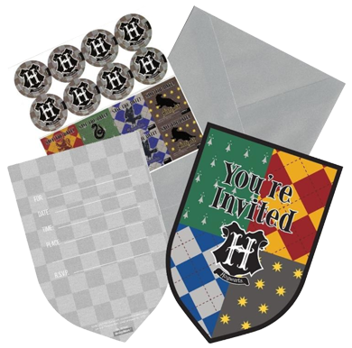 Harry Potter Party Invitations NZ