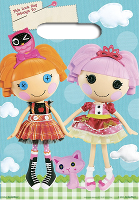 Lalaloopsy Loot Bags or Party Bags