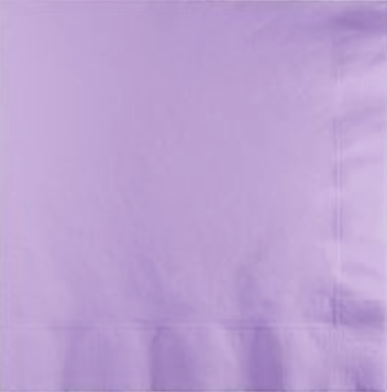 Lavender Party Napkins pk 50