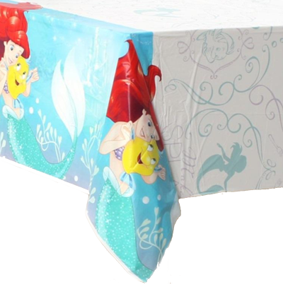 Little Mermaid Plastic Table Cloth
