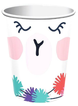 Llama Fun Party Cups