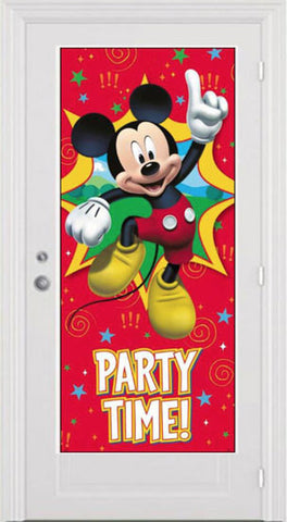 Mickey Mouse Door Poster  sc 1 st  Kids Party Supplies \u0026 Decorations & Scene Setters | Wall Decorations | Posters \u2013 Just For Kids