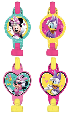 Minnie Mouse Party Blowers NZ