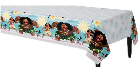Moana Plastic Table Cloth