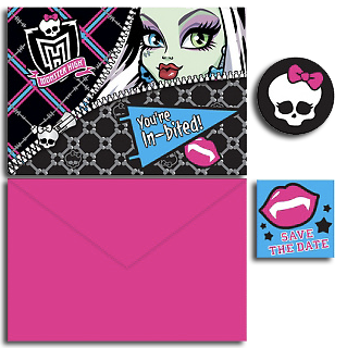 Monster High Party Invites