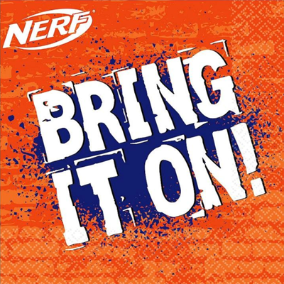Nerf War party Napkins