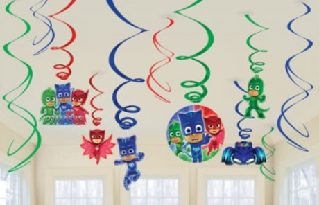 PJ Masks Swirl Decorations NZ