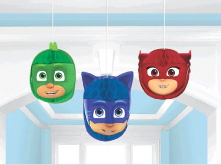 PJ Masks Honeycomb Hanging Decorations NZ