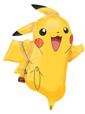 Pikachu Pokemon Foil Balloon