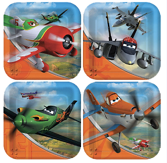 Disney Planes Lunch Plates