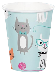 Purr-Fect Pussy Cat Party Cups