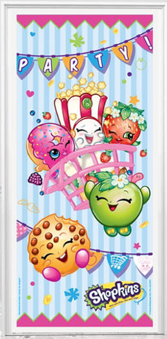 Shopkins Party Door Poster