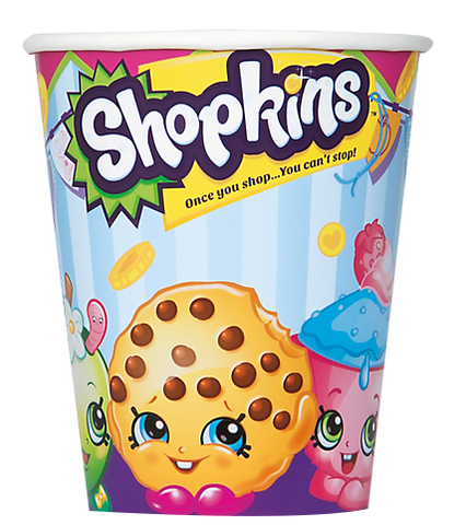 Shopkins Party Cups