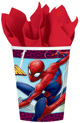 Spiderman Party Cups