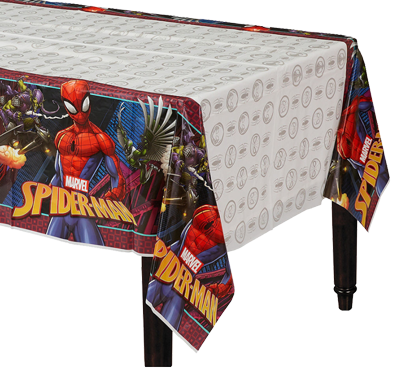 Spiderman Plastic Table Cloth