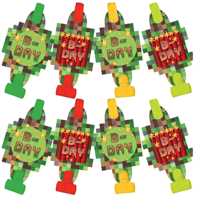 Minecraft TNT Party Blowers
