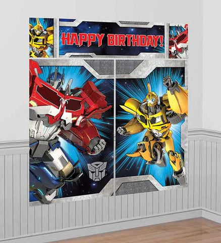 Transformers Scene Setter Wall Decoration NZ