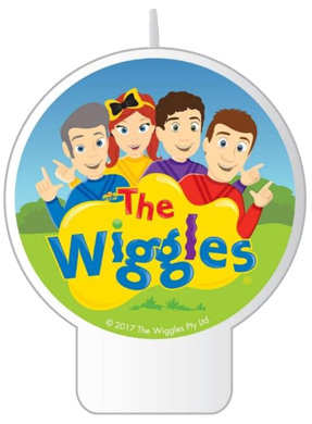 The Wiggles Party Candle