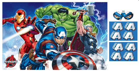 The Avengers Party Game Just For Kids
