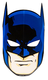 Batman Party Masks pk8