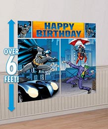 Batman Scene Setter Wall Decoration