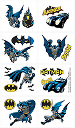 Batman Party Tattoos