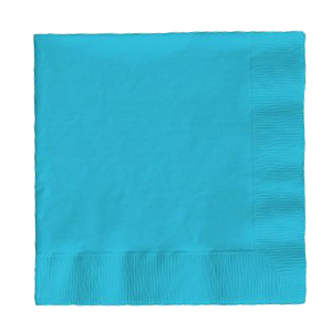 Bermuda Blue Party Napkins pk50