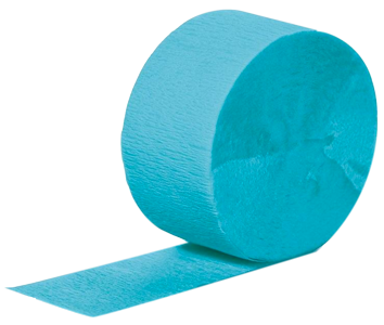 Bermuda Blue Paper Streamer