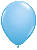 Light Blue Balloons - Single