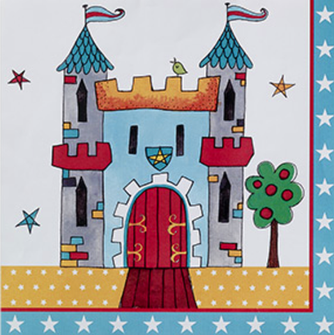 Brave Knight Party Napkins